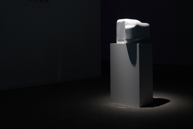 XSense exhibited at Centro Cultural Conde Duque, Madrid